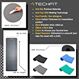 Zoom IMG-1 techfit fitness yoga tappetino 10mm