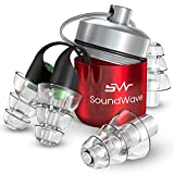 SoundWave Ear Plugs Noise Reduction- Noise Cancelling Earplugs for Studying and Sleeping - Sound...