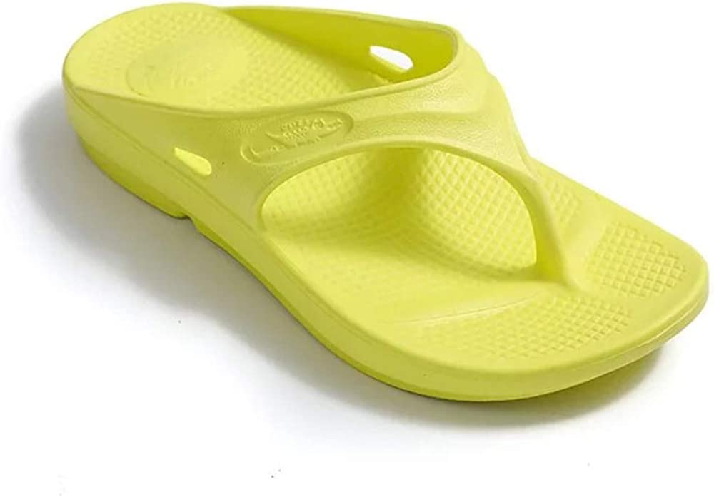 L&M Caiman Unisex Flip-Flops Sandal with Arch Suppor - Correction of Plantar Fasciitis and Flat feet EVA Flat Sandals