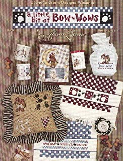 A Little Bit of Bow-Wows (Jeanette Crews Designs #22151 Cross Stitch Patterns)