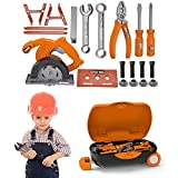 Cokeymove Kindererziehung Toolbox Box Kinderreparaturwerkzeuge Mit Großem Gepäckraum,...