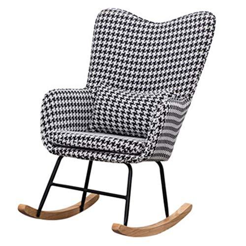ZXJUAN Mode Casual European Style House schommelstoel bank kleine woning volwassenen stof chaise lounge