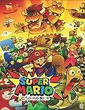 Super Mario Coloring Book: +55 Amazing Supermario Colouring Book for Gamers ( Original Design )