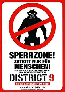 Movie Posters District 9 11 x 17