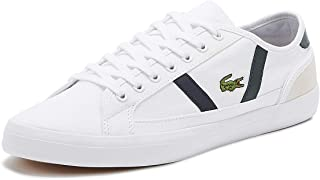 Lacoste Sideline 319 4 Mens White/Dark Green Trainers