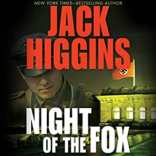 Night of the Fox audiobook cover art