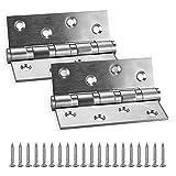KWOKWEI Bisagras de acero inoxidable 304, 2 unidades,...