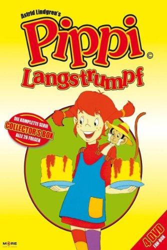 Pippi Langstrumpf - Die komplette Serie (Folge 01-26) [4 DVDs]