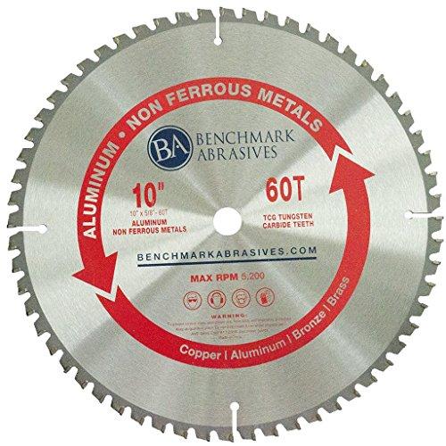 10″ x 5/8″ 60 Teeth TCT Saw Blade for Aluminum & Non-Ferrous Metals