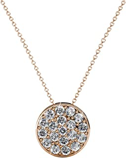 Ringjewels 0.05 Cts Clear Sim Diamond Star Shape Womens /& Girls Stud Earrings In 14K Gold Plated .925