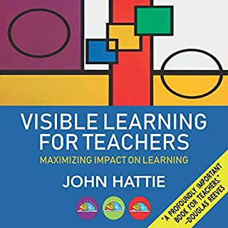 Visible Learning for Teachers cover art