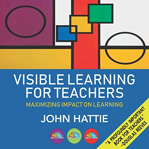 Visible Learning for Teachers audiobook cover art