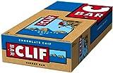 Clif Bar Barrita Energética de Avena y Pepitas de Chocolate - 1 Paquete de 12 Barritas x 68 gr