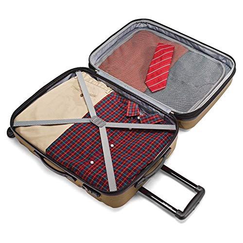 Samsonite Omni PC Hardside Expandable Luggage with Spinner Wheels, Bronze