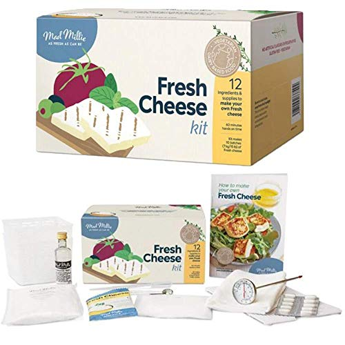 Mad Millie Fresh Cheese Kit, Green/White by Mad Millie