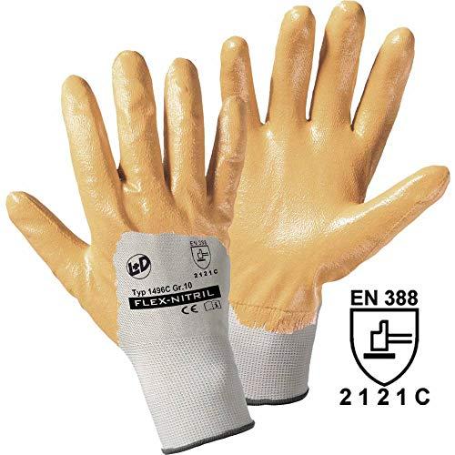 Worky L+D Flex-Nitril 1496C polyester werkhandschoen maat (handschoenen): 7, S EN 388 CAT II 1 st.