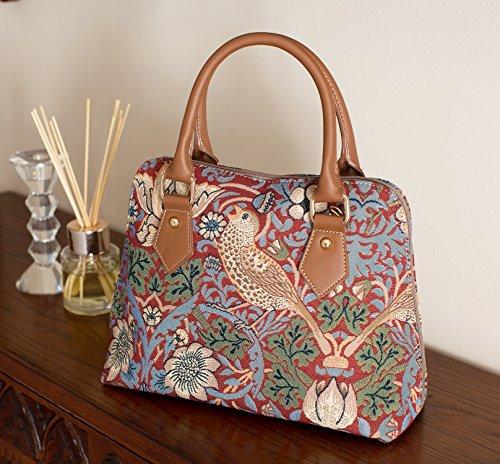 Willam Morris Tapestry Fashion Handbag / Shoulder bag in Strawberry Thief