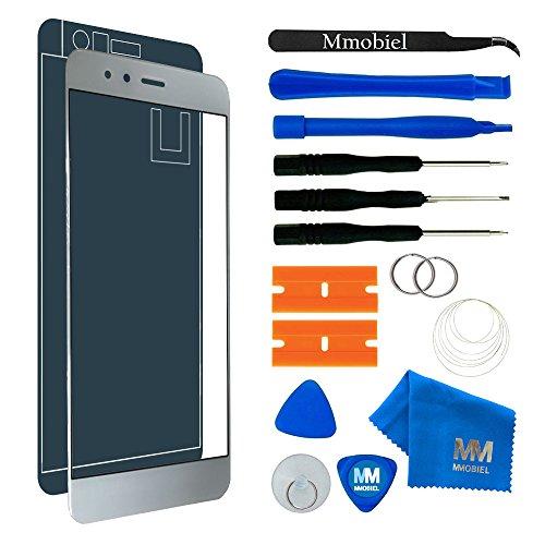 MMOBIEL Schermo tattile di Ricambio Compatibile con Huawei P10 Lite (Pearl White/Bianco) 5.2 inch incl Kit con Attrezzi