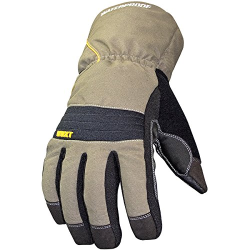 Youngstown Glove 11-3460-60-L Waterproof Winter XT 200 gram Thinsulate Waterproof Glove, Olive and Black, Large