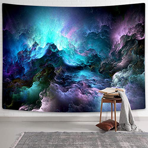 NYMB Psychedelic Tapestry Colourful Cloudy Pattern Tapestries Blue...