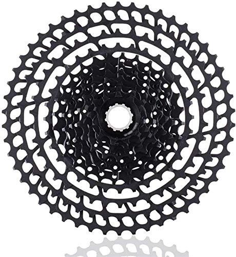 Ruedas De Bicicleta,llantas bicicleta 11 Speed Cassette 11-50T 365g Ultraligero bicicletas de rueda libre 11 t de piezas de bicicleta de montaña for Shimano M9000 M8000 M7000 (Color: 11 11S 50T Plat