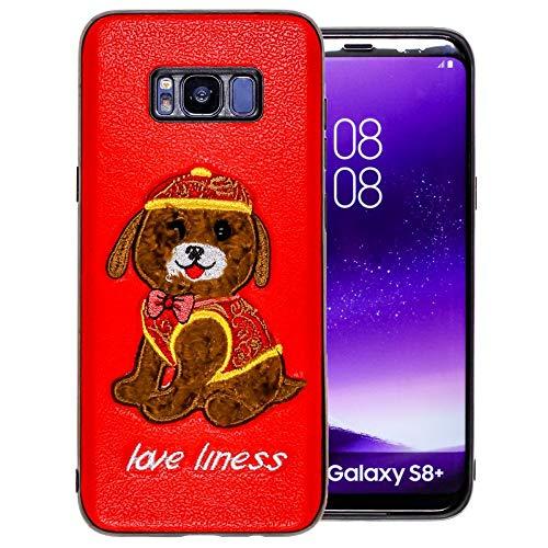 COOVY® Funda para Samsung Galaxy S8 + Plus SM-G955F / SM-G955FD Ligera de silicio TPU, con Motivo de Animal de Peluche, con Ojos pequeños | diseño Diseño 02