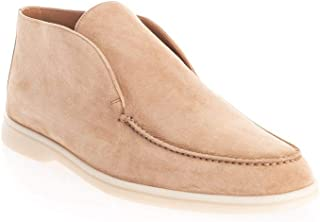 LORO PIANA Luxury Fashion Mens FAB4368H755 Beige Ankle Boots |