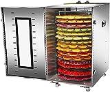 Máquina de alimento seco secó fruta 16 capas para los animales DSL malla girando el comercio eléctrico de disco con temporizador y control de temperatura