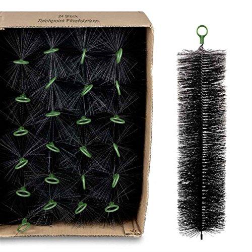 Wagner GREEN 24 Stück Filterbürsten, für Ihren Teichfilter und Koi Teich Filter (80x15 cm)