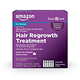 Amazon Basic Care Hair Regrowth Treatment For Women,...