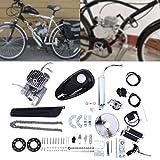 Ywbaw Motorbike Kit,2 Stroke 80cc Bicycle Engine Kit,Upgrade Bike Conversion Kit,DIY Petrol Gas Engine Bicycle Motor Kit Set