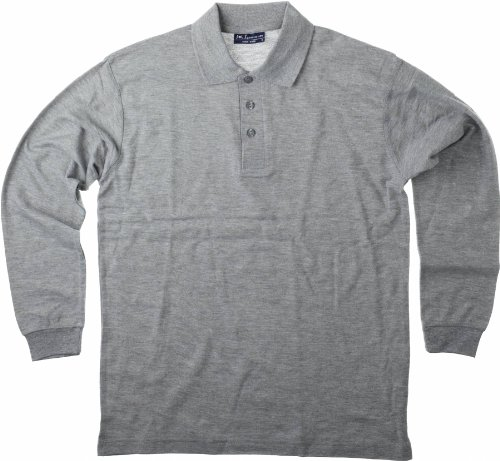 SOL'S - Polo Homme Manches Longues - Star - Blanc L