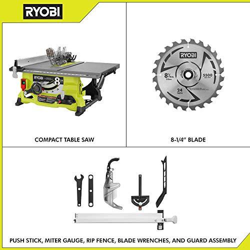 RYOBI RTS08 13 Amp 8-1/4 in. Table Saw