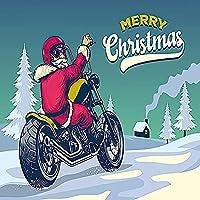 XTTYXF サンタに乗ってオートバイのパズル、大人のためのジグソーパズル1000、クリエイティブギフト子供向け教育玩具開発インテリジェンス