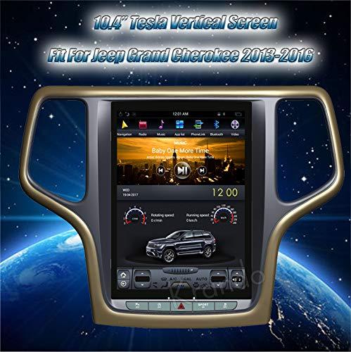 Autoradio Krando Android 10.4' Tesla Vertical screen per Jeep Grand Cherokee 2013-2016 gps system