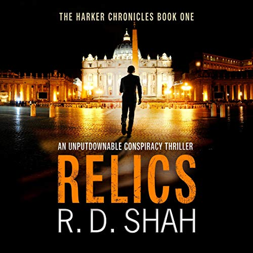 Relics Audiobook By R. D. Shah cover art