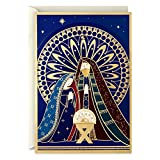 Hallmark Displayable Religious Christmas Cards, Nativity (12 Cards with Envelopes)