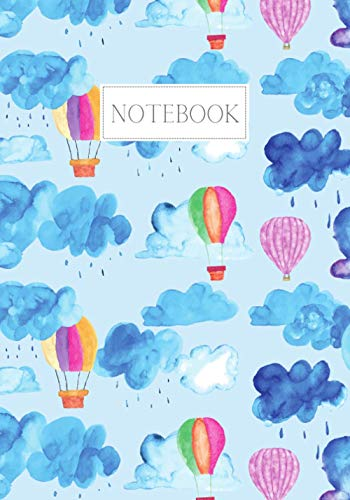 Notebook: Maggie Squeak - Full of Hot Air Lined Notebook
