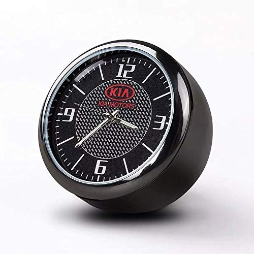 Fitracker Mini Auto-Uhr Armaturenbrett Lüftungsgitter Clock Interior Zubehör Hohe Genauigkeit Quartz Luminous Dial Perfekte Auto Dekoration