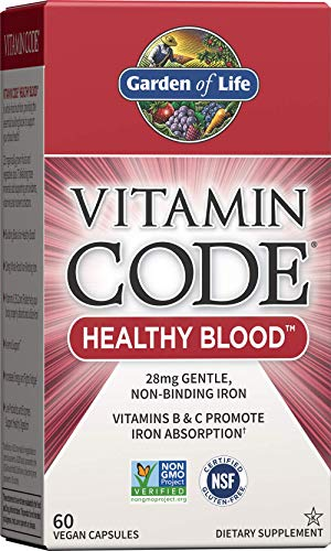 Garden of Life Vitamin Code Iron Su…