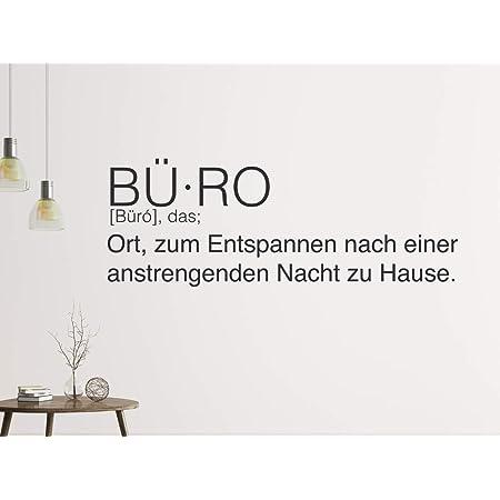 Tjapalo A110 Wandtattoo Buro Spruche Motivation Deutsch Wandspruche Buro Motivationsspruch Farbe Olive Grosse B100xh24cm Amazon De Baumarkt