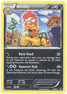 Pokemon - Scrafty (74) - BW - Next Destinies - Holo
