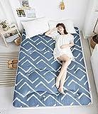 J-Kissen Boden Tatami-Matte, Schlafmatratzenauflage Pad Folding Dicker, Futon-Matratze Kissen, Studentenwohnheim Schlafmatte (Color : O, Size : 150x200cm(59x79inch))