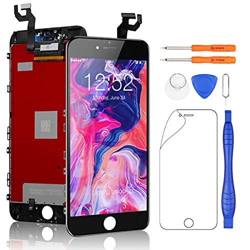 Yodoit para iPhone 6s Plus Pantalla LCD Digitalizador Táctil de Cristal Reemplazo con Marco + Kit de Herramientas de Reparación (5.5...
