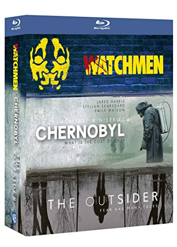 Coffret chernobyl ; watchmen ; the outsider, saison 1
