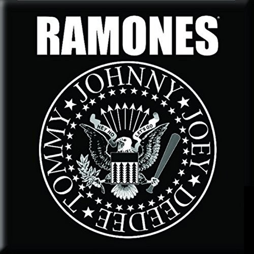 Ramones Kühlschrankmagnet Presidential Seal band logo Nue offiziell 76mm x 76mm