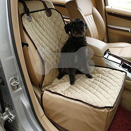 Redcolourful beschermmat voor voorstoelen, van nylon, waterdicht, voor katten en honden, Champagne abricot
