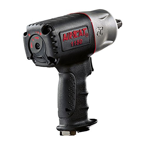 AIRCAT 1150 'Killer Torque' 1/2-Inch Impact Wrench, Medium, Black