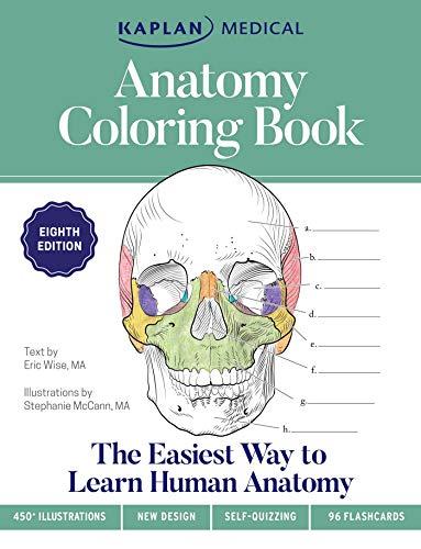 Anatomy Coloring Book (Kaplan Test Prep)
