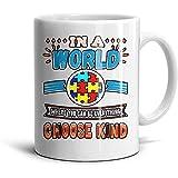 Día Mundial de Concienciación sobre el Autismo en un Café o Té de Inspiración Novedad Mundial: Tazas-Gran Regalo, Taza